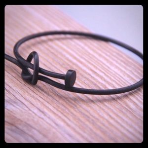 Jewelry - Copper casting black matte nail bracelet